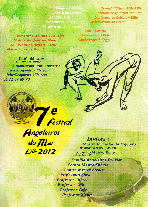 7th Festival Angoleiros do Mar Lille