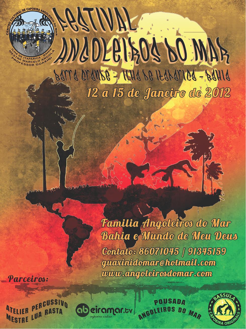 2nd Festival Angoleiros do Mar Itaparica