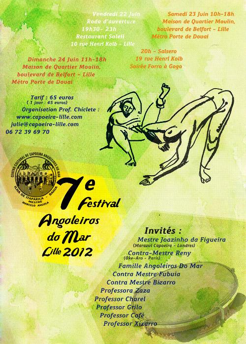 7th Festival Angoleiros do Mar Lille